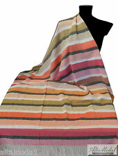 MISSONI  HOME ASCIUGAMANO MARE BEACH TOWEL OVIDIO 156 100% COTTON 130x190cm -