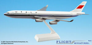 Flight Miniatures CAAC Civil Aviation Administration of China A340 1:200 Scale R