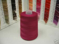 (1) Cone Serging Thread ~  Ruby Red #D107 ~ 10,000 Yds