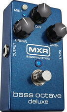 New MXR M288 Bass Octave Deluxe Pedal ~ FREE SHIPPING! FREE FENDER CABLE
