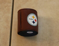 PITTSBURGH STEELERS PIGSKIN NFL FOOTBALL CAN COOLER 25f5eb831