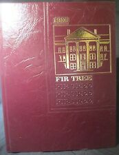 1986 Fir Tree Woodberry Forest School Yearbook, Woodberry Forest, Virginia