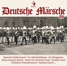 CD Deutsche Märsche von The World Of Diverse Interpreten 2CDs