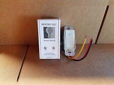Sentry Switch SD23277W 20A 120-277VAC rocker switch white 3W