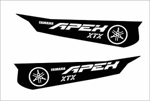 YAMAHA tunnel wrap graphics apex vector SE X-TX LE RS L-TX 144 TUNNEL KIT APEX