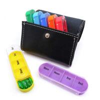 7 Day Weekly Daily Large Pill Box 28 Slot Medicine Organizer Storage Dispenser