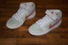 super popular 19ebd a644a Nike Sb Dunk Mid White Widow 420 NEW Size 4.5 AQ2207-163