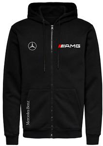 MERCEDES AMG BENZ Hoodie Zipper Jacke Sweater Herren T-Shirt Männer Bio bis 5XL