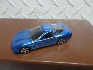 Loose Maisto Blue 1997 Chevrolet Corvette