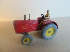 648I Vintage Dinky 27A Tracteur Massey Harris