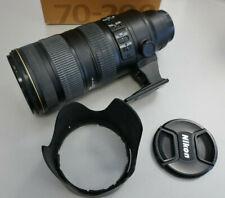 Nikon AF-S Nikkor 70-200mm 2,8G ED VR II