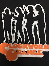 Clockwork Orange Movie Back Patch NEW Droog Moloko Plus Alex Stanley Kubrick Fil