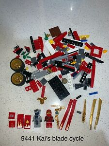 LEGO Ninjago 9441, 9443, 9444 - incomplete sets, great for parts + extras!
