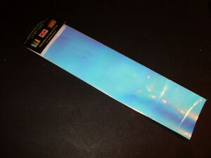 """MOON JELLY UV Fishing Lure Tape Matte 3"""" x 12"""" 2 Pack Free Lure Tape Included!"""