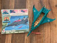 Mega Force BACKLASH By Kenner Vintage Boxed Air Assault Rapid Deployer Incomplet