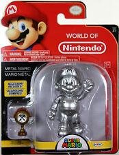 World of Nintendo ~ METAL MARIO (WAVE 12) ACTION FIGURE ~ Super Mario Bros.