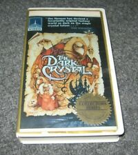 THE DARK CRYSTAL 1982 VHS CLAMSHELL THRON EMI Collectors Series Betamax Case