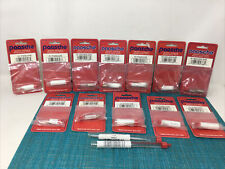 Lot Of Paasche Airbrush ~H /Vln Airbrush Tips & Needles 14 New Sealed Pieces
