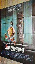 JEU D'ENFANT child's play chucky 1 ! affiche cinema horreur epouvante