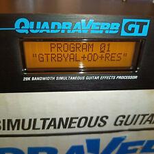 Alesis Quadra Verb GT - Gitarre Multi Effekt Amp Simulator Vintage Top Klassiker