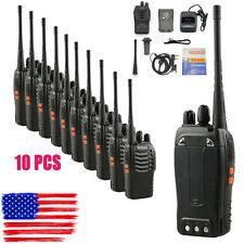 10 pcs Walkie Talkie Way Radio 2 Two Frs Gmrs Mile New Motorola Midland Radios F