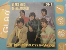 Limited Rare Single CD sleeve STATUS QUO Black Veils Of Melancholy TO BE FREE