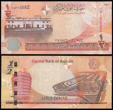 Bahrain 1/2 DINAR 2006 P 25 UNC OFFER !