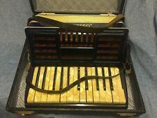 Strauß Ziehharmonika. klein. Alt. Rar Akkordeon