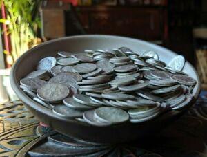 1 Troy Pound of 90% Silver Dimes - NO JUNK - American Silver Hoard Survival Bag