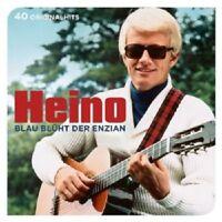 HEINO - BLAU BLÜHT DER ENZIAN-40 ORIGINALHITS 2 CD NEW+