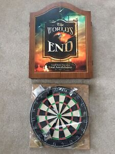 Rare The Worlds End Dartboard - New