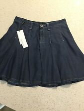Calvin Klein Women's Skirt, Light weight denim, Size 26, BNWT, Retailed $210.00