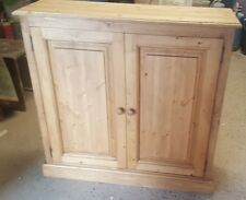 NEW SOLID PINE SHOE CUPBOARD, WOODEN SHOE STORAGE UNIT  ** MADE TO ORDER **