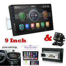 9in Car Stereo Audio In-Dash FM Aux In USB MP5 Radio Player 1Din Mirror Link