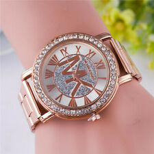 Ladies Wrist Watches Watch Quartz Analogue Women S Steel Leather Casual Gift Uk
