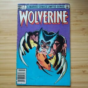 Wolverine #2 - 1982 - FR - 1st Appearance Yukio - Unrestored - More Available