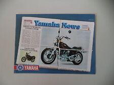 advertising Pubblicità 1981 MOTO YAMAHA XV 750 CUSTOM SPECIAL