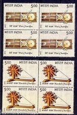 India 2015 MNH 2v Blk 4, Charkha, Mahatma Gandhi Bardoli Charkha, Peti Charka