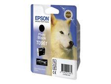 CARTOUCHE EPSON T0961 PHOTO NOIR / noire light pour R2880 T096 loup pas cyan