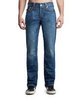 True Religion Men's Ricky Straight Leg Stretch Jeans