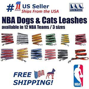 NBA Pet Leash - Heavy-duty, Durable DOG LEASHES, 12 Licensed NBA Teams & 3 sizes
