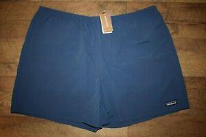 "Patagonia Men's Baggies Shorts  5"" 57021 Size XXL (Stone Blue) NWT"
