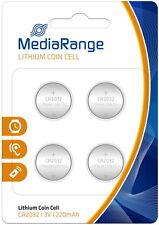 20 MediaRange CR 2032 Lithium Knopfzelle Batterien BLISTER