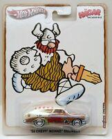 Hot Wheels 1956 Chevrolet Nomad Delivery '56 HAGAR Comics Culture Real Riders