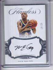 Nick Van Exel 2016-17 Flawless Auto Autograph /25 Lakers