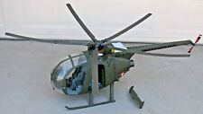 Huge 21st Century Toys Ultimate Soldier Oh-6 Ah-1 Air Cav Us Army Helicopter~1/6
