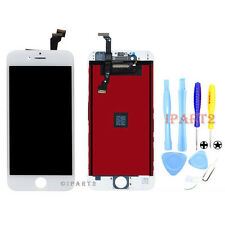 """White Front LCD Display Touch Screen Digitizer Assembly for iPhone 6 4.7"""" +Tools"""