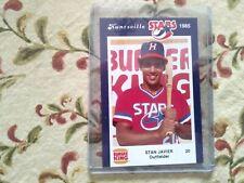 1985 Burger King Huntsville Stars Stan Javier