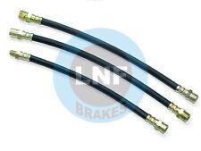 FIAT 1500S (118K/118H) 1600S BRAKE HOSE SET X3 (2FR+1RR) TUBI FRENO 63 64 65 66
