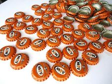 vintage a&w root beer bottle caps lot,soda pop advertising craft.USED.100 caps